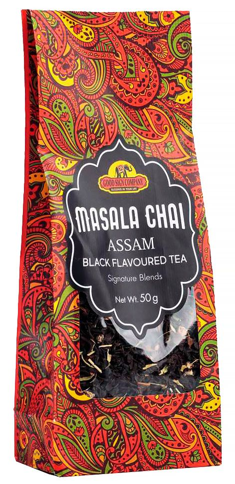 Чай Масала черный со специями (Masala chai Assam black flavoured tea)