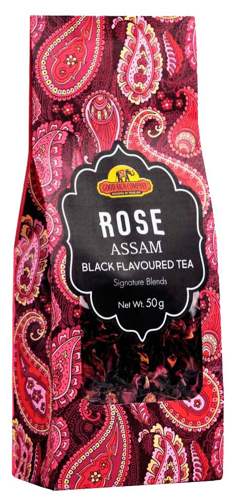 Чай Роза черный (Rose Assam black flavoured tea)