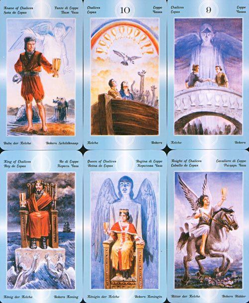 Таро ангелов значение карт с картинками